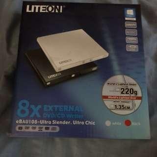 Lite On External DVD/ CD Writer