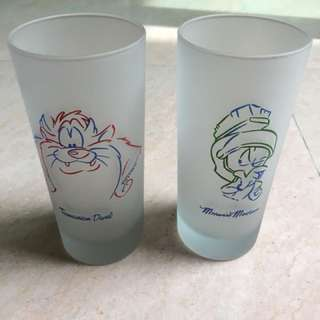 Tasmanian Devil frosted glass