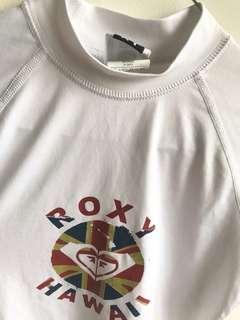 ROXY short sleeve rashguard