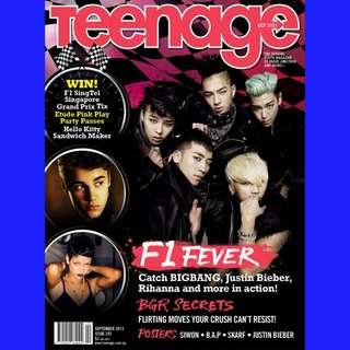 Teenage Magazine (BIGBANG, GD)