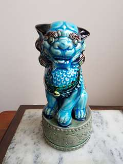 Vintage Chinese lion