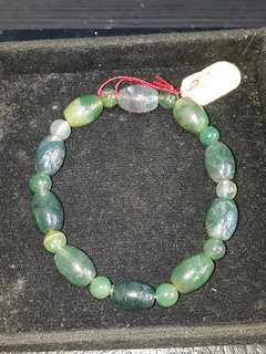 Gelang lumut Suliki ( Moss Agate Bracelet) Self collection at hougang ave8 or Punggol Drive under my blk.