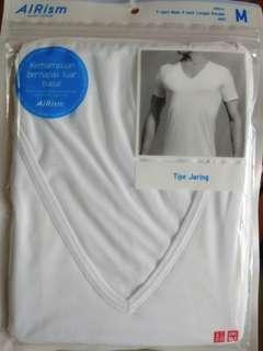 UNIQLO T-Shirt AIRism (Kaos Jaring Sport)