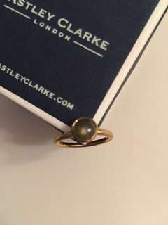 Ashley Clarke stone stacking ring