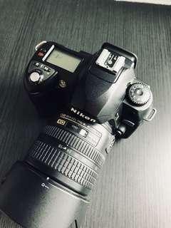 Nikon D70 + 18-70mm f3.5-4.5 lens