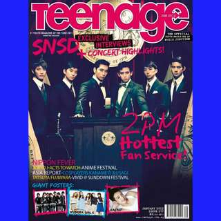 Teenage Magazine (2PM, Running Man, KJK, KHJ)