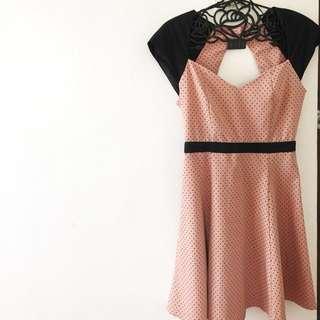 Repriced! Miss Selfridge Openback Semi Formal Dress