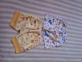 Celana pendek baby