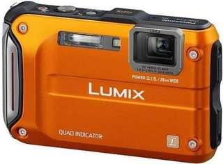 Panasonic Lumix DMC-FT4 (aka DMC-TS4) waterproof, diving, underwater, shockproof, dustproof digital camera 防水 潛水 相機