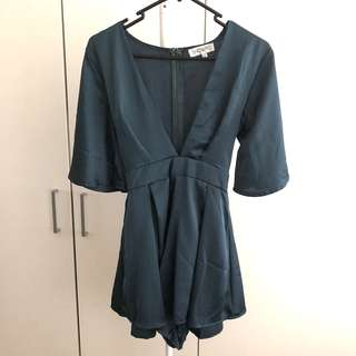 SHOWPO Teal Playsuit