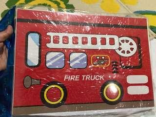 Fire Truck Storage Box