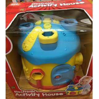 kids electronic musical activity house