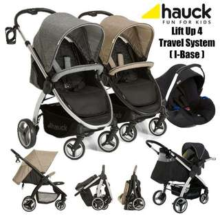 Hauck Lift Up 4 Stroller - Travel System