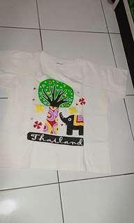 t-shirt thailand size 4-5T