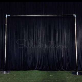 [Sellabrations] 3m x 3m Heavy Duty Backdrop Stand Wedding Arch