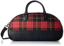 Fred Perry Subculture Tartan Grip Bag