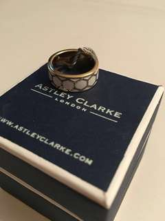 Ashley Clarke ceramic stacking ring