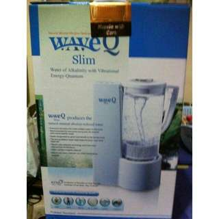 WaveQ Slim Mineralized Hexagonal H2O for Alkaline Water System Wave Q