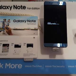 Kredit Samsung Note FE Proses 3 Menit