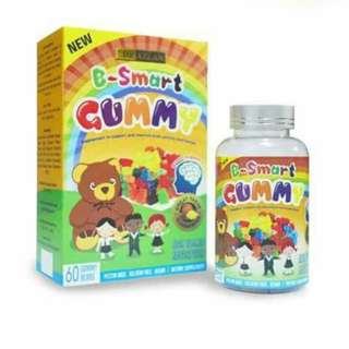 KIDS SUPPLEMENT FOR SMART BRAIN B-SMART GUMMY BYDRAZLAN No Ratings
