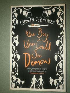 Novel: The Boy Who Could See Demons