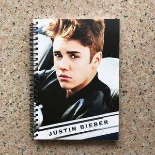 Justin Bieber Notebook