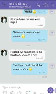 Thank you for buying sis! :) LEGIT ✔