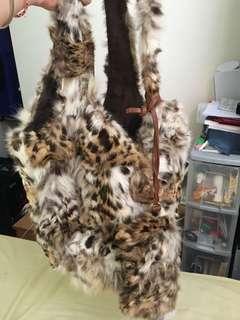 豹毛袋連錢包