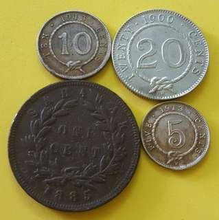 SARAWAK COIN ( Set 4 in 1 )