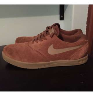 Nike SB Eric Koston 2 Brown Suede Shoes