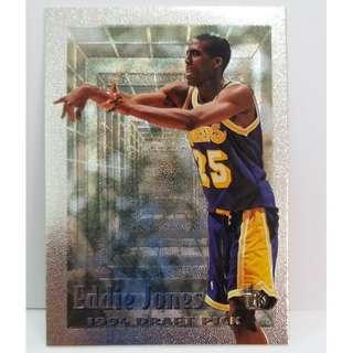 1995 Rare Topps NBA Cards 1994 Draft Pick #110 (Eddie Jones)