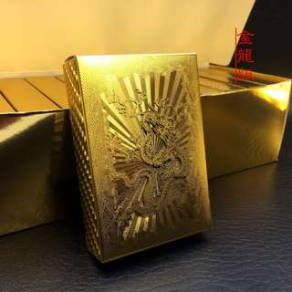 24k Gold Foil Dragon Cards