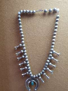 rare navajo necklace