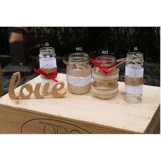 Rustic DIY Bottles