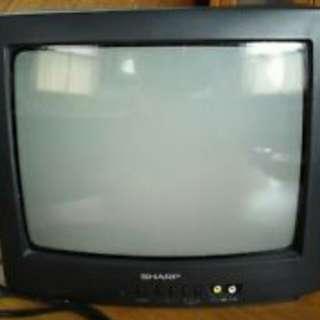 """SHARP 20"""" CRT TV"""
