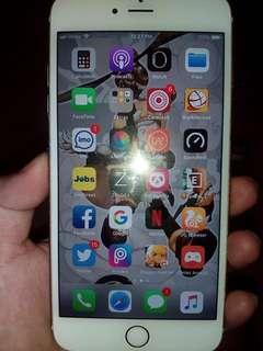 Iphone 6s plus 16gb globe locked