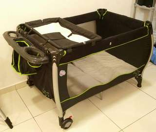 Sweet Cherry Playpen (Without Bassinet)