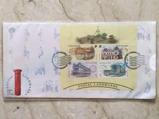 2000 landmark stamp