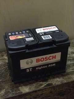 Bosch AGM Car Battery under Warranty