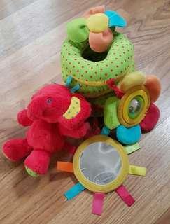 mainan lilit elc mothercare untuk box bayi stroller