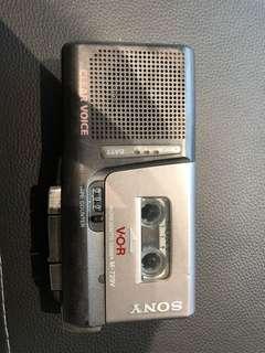Sony microcassette corder M729V