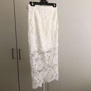 Missguided Lace Skirt