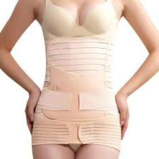 Maternity and Body Slimming Girdle Set Brand New