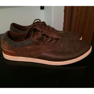 Lacoste Brown Suede Shoes
