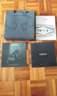 PANERAI New利是纸袋目錄paper bag, 2016-2017, Submersible leaflet, 2 boxes Lai see