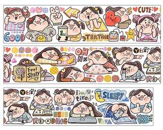 (Instock) *Exclusive* My Daily Life 1 Washi Stickers