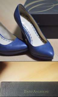 Enzo Angiolini Blue Pumps Size 6 to 6.5