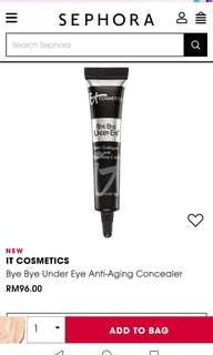 RAYA SALE! IT Cosmetics Bye Bye Under Eye Full Coverage Concealer - Medium