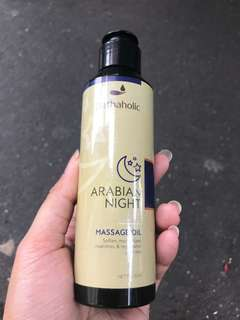 bathaholic massage oil