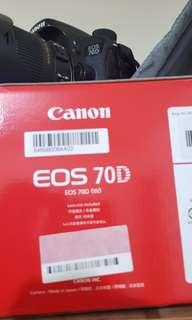 70d Canon 公司貨 18-250 sigma 兩顆充電器 三顆電池 (非Nikon 80d 600d 500d)